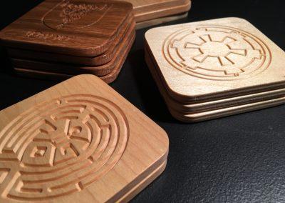 CNC Coasters