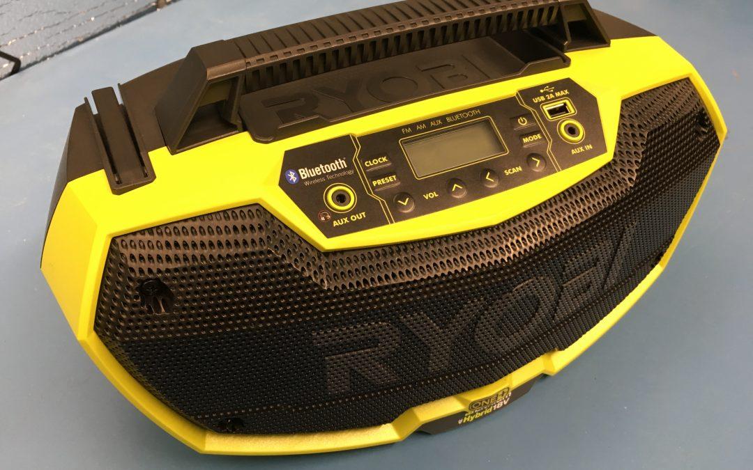 Product Spotlight – Ryobi Dual Power Bluetooth Stereo