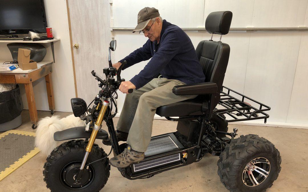 Daymak Boomer Beast – Part 3: Seat & Ergonomics